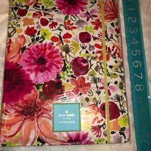 NEW Kate Spade Notebook/Folio